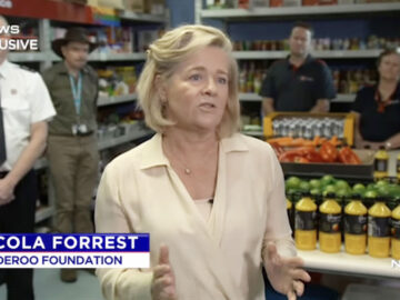 Nicola Forrest, Minderoo Foundation on 7 News Exclusive | SILVER LINING & CO